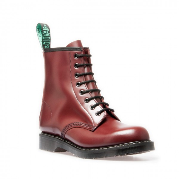 Solovair 8 Eye Derby Halbstiefel oxblood poliert 36 (UK3)