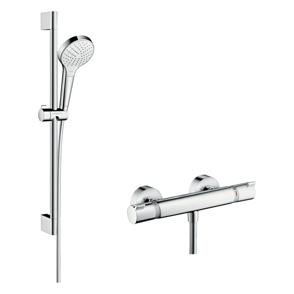 hansgrohe Croma Select S Brausesystem Vario - weiss-chrom