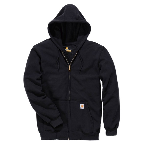 Carhartt K122 Midweight Hooded Zip Kapuzen Sweatjacket black / S