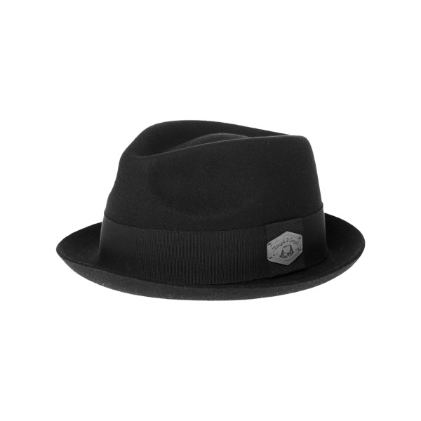 Rough & Loyal MR. WISHER klassischer Trilby Hut - schwarz S