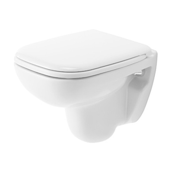 Duravit D-Code Wand-WC Compact 350x480mm weiss